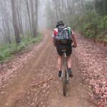 mountain bike riding edited